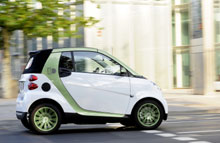 smart electric drive kommer på markedet i 2012.
